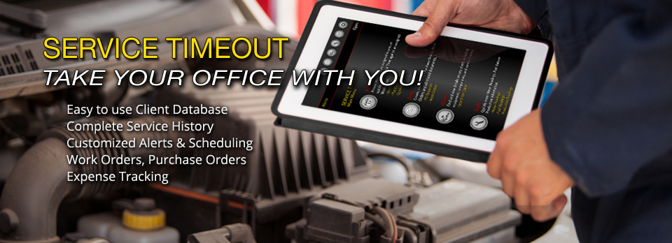 Service Timeout - Mobile Service Software
