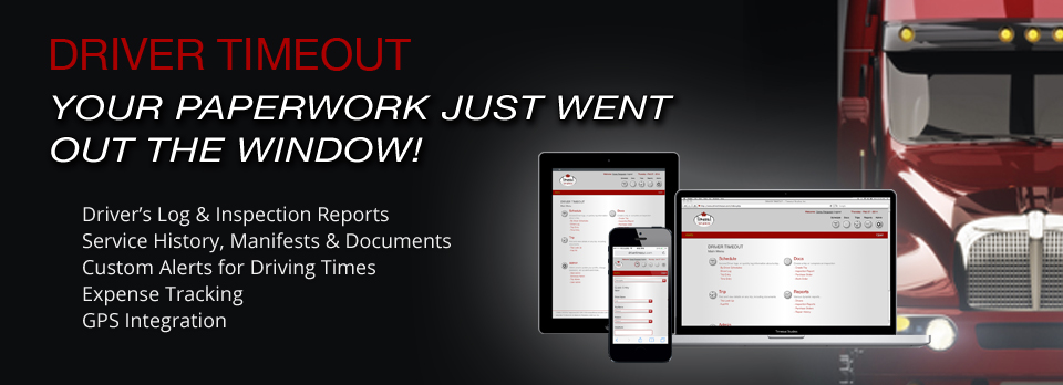 Driver Timeout - Commercial Driver Mobile application